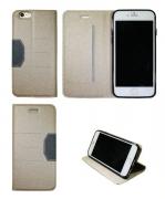 Apple iP6 Plus/6S Plus- Preklopna torbica - bež