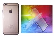 Apple iPhone 6/6S prosojen TANEK gum. zašč. ovitek