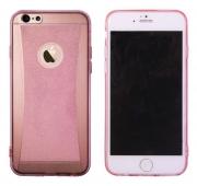 Apple iPhone 6/6S roza-prosojen (iP6-19) - Gum. zašč. ovitek