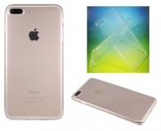 Apple iPhone 7 Plus - Gumiran ovitek (TPUA) - prosojen