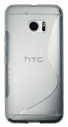 HTC 10/10 Lifestyle belo-prosojen - Gumiran ovitek