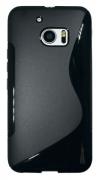 HTC 10/10 Lifestyle črn - Gumiran ovitek
