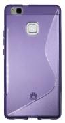 Huawei P9Lite vijolično-prosojen - Gumiran zaščitni ovitek