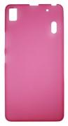 Lenovo A7000/K3 Note roza mat - Gumiran zaščitni ovitek
