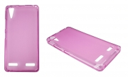Lenovo K3 roza-prosojen mat - Gumiran ovitek