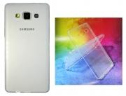 Samsung Galaxy A5 prosojen TANEK gum. zašč. ovitek