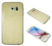 Samsung G920F Gal. S6 - zlato-pros. - Gumiran zaščitni ovitek