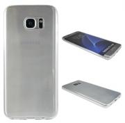 Samsung Galaxy S7 Edge prosojen TANEK gum. zašč. ovitek